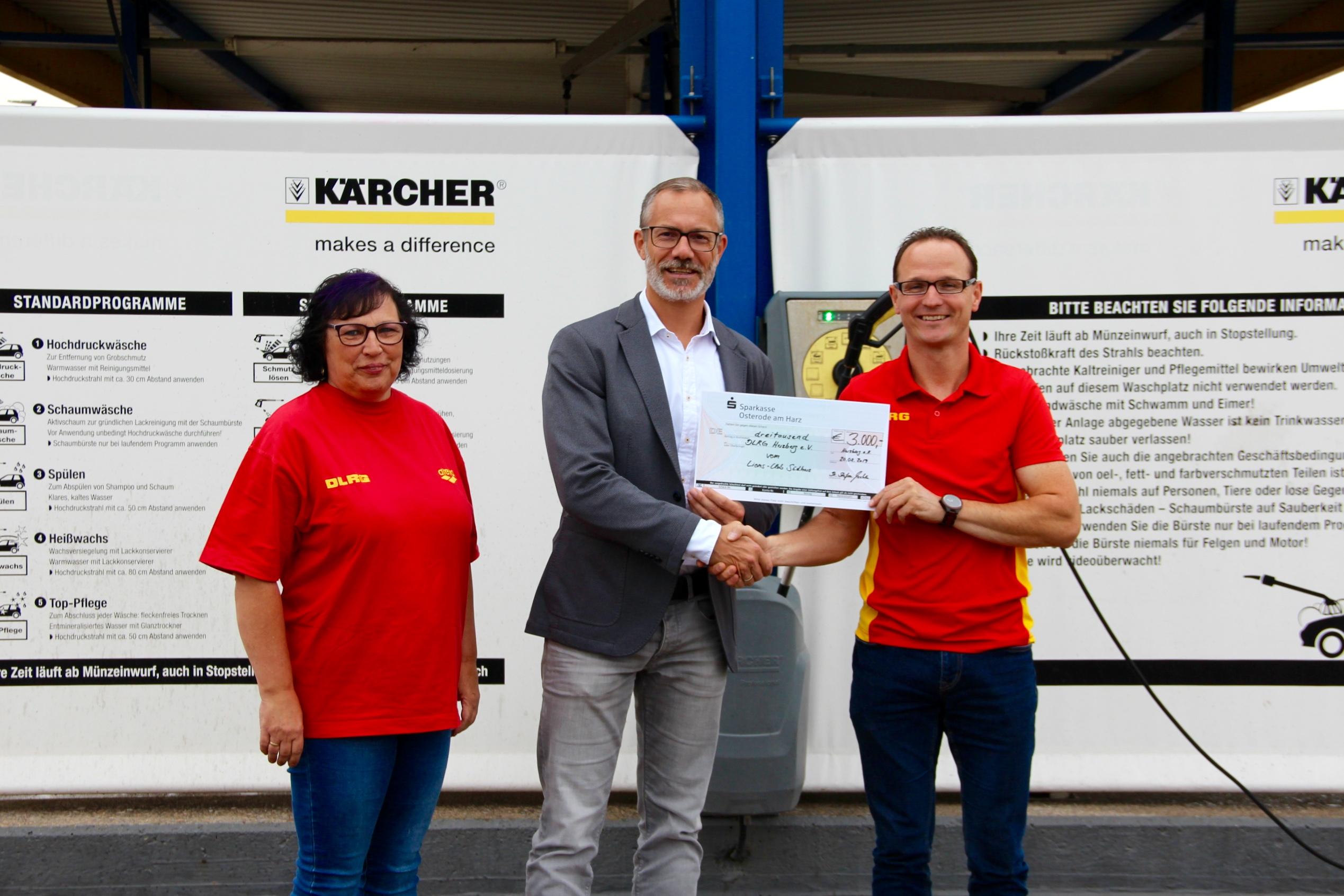 Spendenübergabe DLRG Herzberg 2019