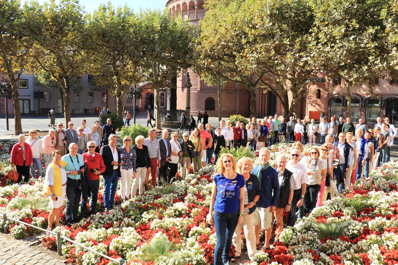 Jumelage-Treffen mit dem Lions Club Armentières in Mainz 2018